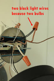 wiring a light fixture with red black and white wires wiring