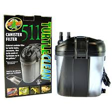 Zoo Med Lighting by Zoo Med Zoo Med Turtle Clean 511 Canister Filter Reptile Canister