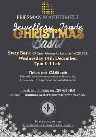 benchpeg jewellery trade christmas party london wc2