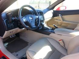 2011 Corvette Interior Fs 2011 Torch Red And Tan Interior Grand Sport 3lt Texas