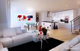 White And Red Kitchen Ideas Apartments Ravishing Samples For Black White And Red Bedroom