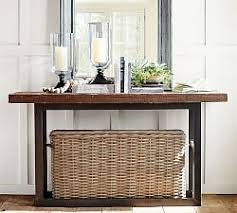 Wooden Console Table Console Sofa Tables Pottery Barn