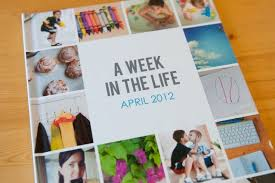 8x10 photo album book a week in the photobook album by scrapbooker tracy larsen