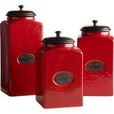 best 25 red canisters ideas on pinterest red kitchen canisters