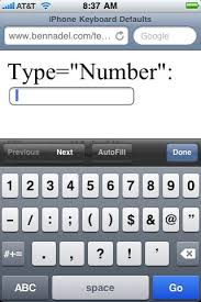 email keyboard layout iphone default to the numeric email and url keyboards on the iphone