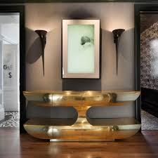 Gold Entry Table Photo Page Hgtv