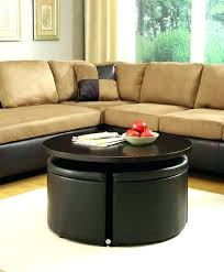Espresso Ottoman Coffee Table Brown Faux Leather Storage Ottoman Bench Coffee Table Best Of