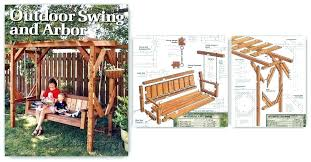 arbor swing plans free freestanding arbor swing plans arbor swing freestanding arbor swing