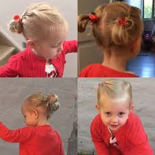 two buns two braids kids summer hairstyle for