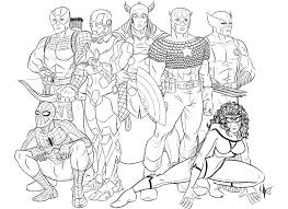 avengers coloring pages print kids coloring