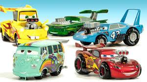 cars characters ramone disney cars movie rod car set lightning mcqueen mater king
