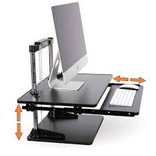 Sit To Stand Desk Uptrak Metro Two Level Sit Stand Desk Converter Standing Steady Uptrakktbl 413 Jpg V 1520438479