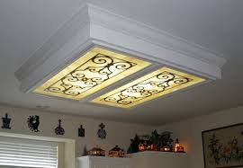 Fluorescent Ceiling Light Covers Plastic Amazing Plastic Replacement Cover Ceiling Light For Covers Awesome