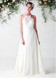 beaded wedding dresses buy discount fantastic lace chiffon halter neckline a line