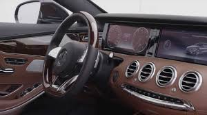 2014 mercedes s class interior 2014 mercedes s class coupe s500 interior footage