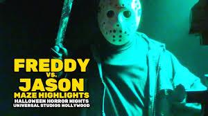 ellen halloween horror nights 2015 freddy vs jason maze highlights at halloween horror nights 2016