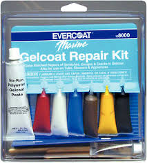 touch up paint for gel coat repair