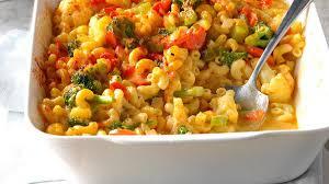 veggie macaroni u0026 cheese recipe taste of home