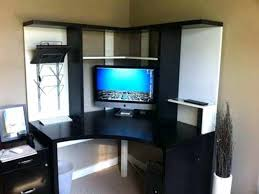 Ikea Black Computer Desk by Armoires Computer Armoire Desk Ikea Storage Corner Computer Desk