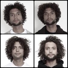 men growing hair out stages growing out stages type 3b curl hair goals pinterest