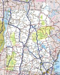 Usa Highway Map Large Detailed Roads And Highways Map Of Vermont State With