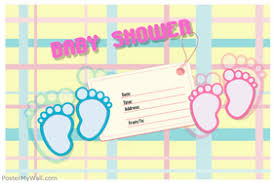 baby shower poster customizable design templates for baby shower postermywall