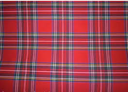 Pink Tartan Curtains Tartan Curtains Pelmet Ties