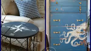 Summer Home Decor Coastal Style Furniture Makeover Ideas Summer Home Decor