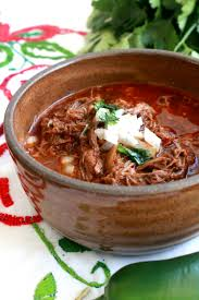 slow cooker birria de res or mexican beef stew