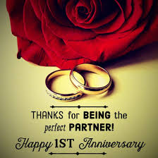 1st year wedding anniversary anniversary quotes and messages for him and holidappy
