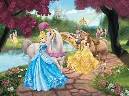 Horse Murals by Disney Princess Horses Wall Mural U0026 Photo Wallpaper