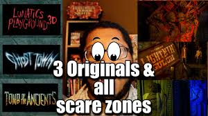 halloween horror nights 25 map hhn 26 full update youtube