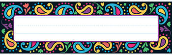 Desk Name Tags by Perfectly Paisley Desk Name Tags Name Plates Teacher