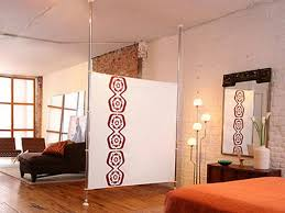 Curtain Room Dividers Ideas Ideas U0026 Design Room Divider Ideas For Studio Interior