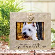 remembrance picture frame pet memorial picture frame personalized photo frame for dog cat