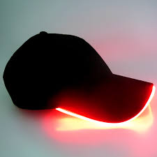 promotion wholesale custom bright led lighted cap and hat baseball