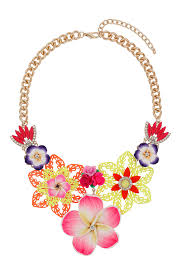 coloured flower necklace images 54 topshop collar necklace becky g style outfits topshop jpeg