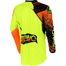 childrens motocross gear new oneal 2018 youth mx element burnout hi vis orange kids