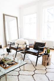 livingroom soho bright living room with chic interior decor at the apartment by the