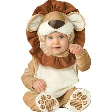 halloween costume infant baby onesies toddlers lion animal romper