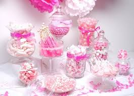 Baby Shower Candy Buffet Pictures by Best 25 Pink Candy Bars Ideas On Pinterest Pink Candy Buffet