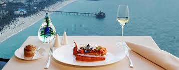 cuisine uip avec table int r restaurants dubai burj al jumeirah