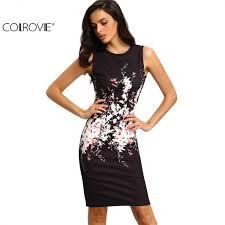 i colrovie 2017 new summer style bodycon dresses vintage ladies