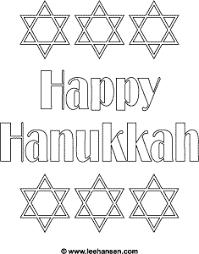 hanukkah coloring page happy hanukkah coloring page