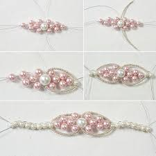 How To Make Magnetic Jewelry - making chic and elegant pearl beaded bracelet carol u0027s crafts house