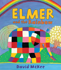 Elmer The Patchwork Elephant Story - elmer and the rainbow david mckee elephants