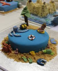 Pirate Cake Decorations Want To Sea Some Insanely Well Decorated Seaside Themed Cakes