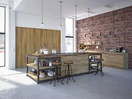 cuisine en brique cuisine moderne ilot central 4 cuisine en brique ou blanche