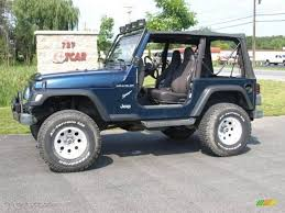 blue jeeps 2001 jeep wrangler information and photos zombiedrive