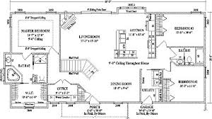 ranch house floor plans open plan charming 4 bedroom ranch style house plans ch house floorplans